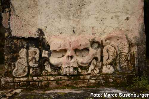 Palenque Maske