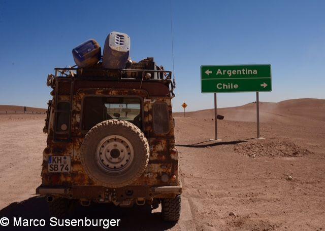 Argentinien- Chile